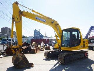เครื่องจักรก่อสร้าง KOMATSU PC120 6E0 74201