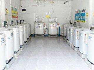 เครื่องซักผ้าหยอดเหรียญ LG 11KG. รุ่น WF-T1156TD