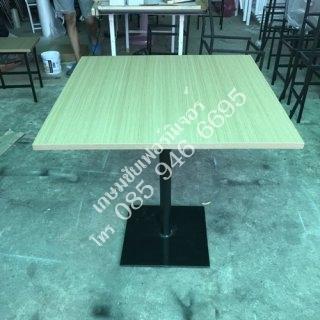 โต๊ะค่าเฟ่ ไม้อัด ลายไม้