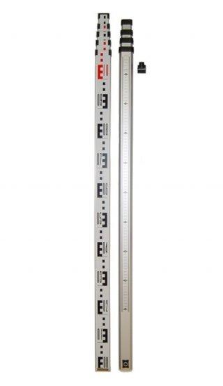 ไม้สต๊าฟอลูมเนียม แบบชัก 5เมตร ไม้สต๊าฟอลูมเนียม