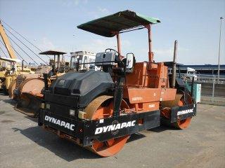 เครื่องจักรก่อสร้าง DYNAPAC CC421 58010154