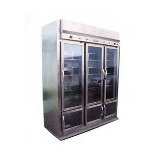 ตู้เย็น 6 ประตูกระจก