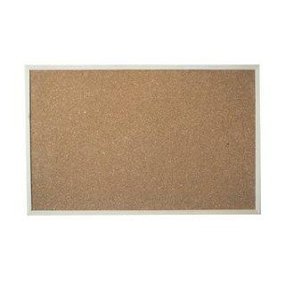 กระดานไวท์บอร์ดไม้ก๊อก 40x60 cm