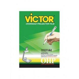 แผ่นใสสำหรับเขียน VICTOR A4 150 ไมครอน