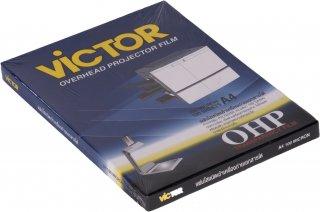 แผ่นใสสำหรับถ่ายเอกสาร VICTOR A4 100 ไมครอน