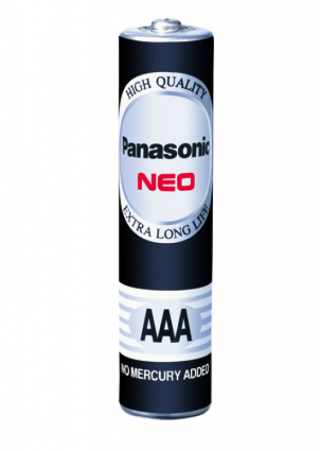ถ่าน Panasonic NEO AAA R03NT 2SL