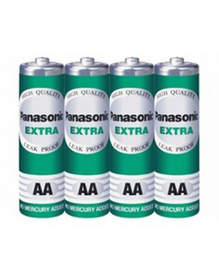 ถ่านPanasonic Extra AA R6ST 4SL