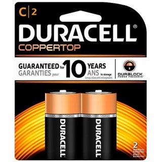 ถ่าน Duracell Alkaline 1 5V Size C