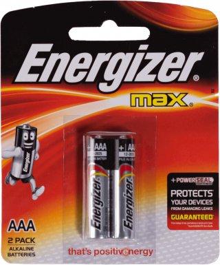 ถ่านไฟฉายอัลคาไลน์ Energizer No E92 BP2