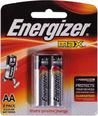 ถ่านไฟฉายอัลคาไลน์ Energizer No E91 BP2