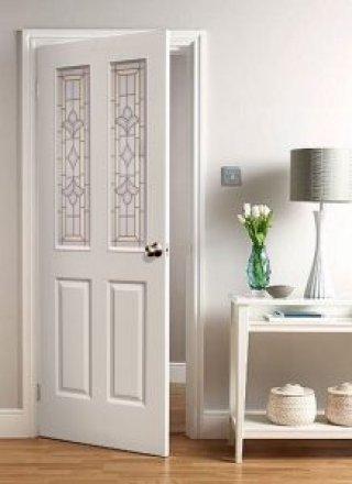 ประตูบ้าน HDF ( Moulded White Primed Doors )