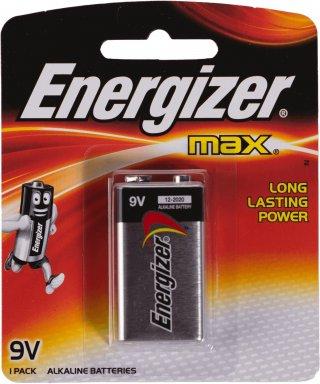 ถ่านไฟฉายอัลคาไลน์ Energizer No 522 BP1 ขนาด 9v