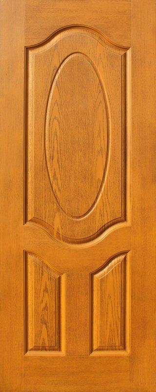 ประตู HDF รุ่น 3H สีสัก
