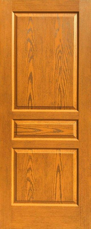 ประตู HDF รุ่น 3HT สีสัก