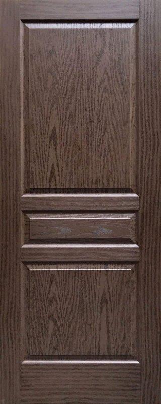 ประตู HDF รุ่น 3HT สีโอ๊ค
