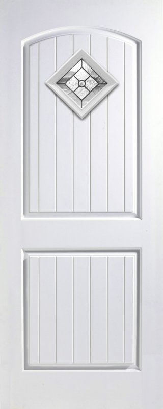 ประตูไฟเบอร์กลาส รุ่น 2PG