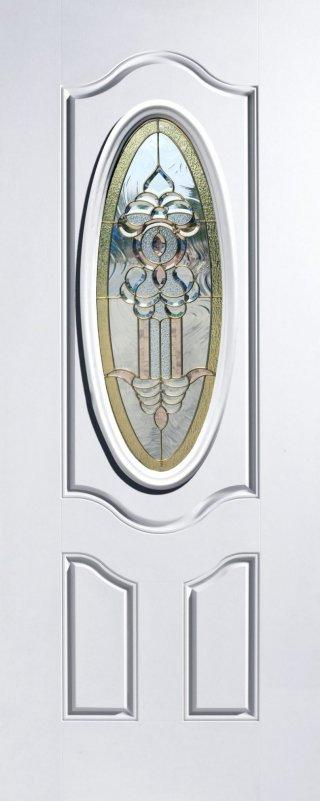 ประตูไฟเบอร์กลาส รุ่น 3P-WG