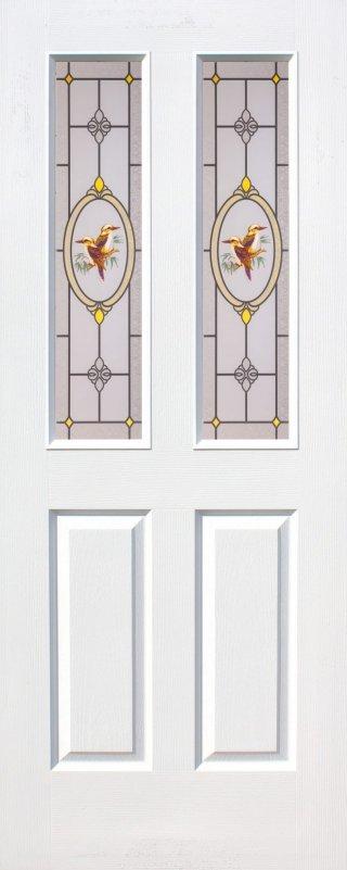 ประตูกระจก HDF รุ่น 12S