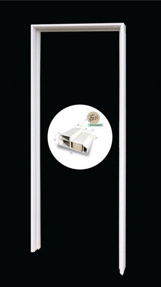วงกบประตู รุ่น WUF 100 (2″x4″) (UPVC)