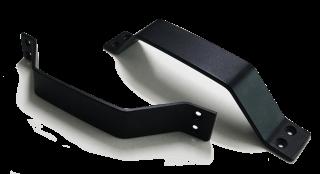 มือจับบานสไลด์เหล็กอบสีดำ รุ่น H-1