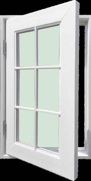 ชุดหน้าต่างบานเปิด รุ่น WD60