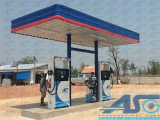 Small Fuel Station A-Type 3x6m