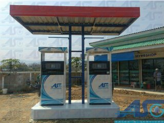 Small Fuel Station B-Type 2x4m