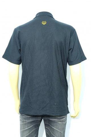 เสื้อโปโลสีดำ ปักลาย