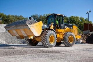 รถตักหิน