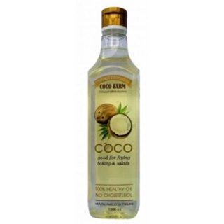 Coco Farm น้ำมันมะพร้าวสำหรับปรุงอาหาร (1,000 ml)