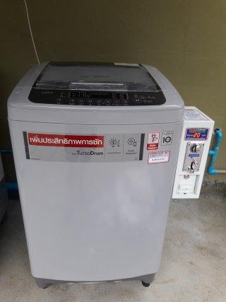 เครื่องซักผ้าLGหยอดเหรียญราคาถูก จ นนทบุรี