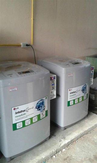 เครื่องซักผ้าLGหยอดเหรียญ จ เชียงราย จ เชียงใหม่