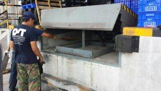 ซ่อมสะพานปรับระดับ (Dock Leveler)