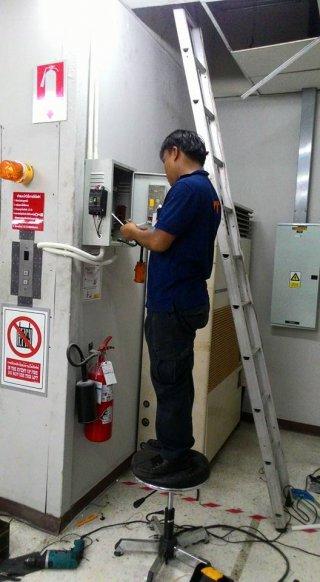 งานซ่อมแก้ไขระบบไฟฟ้าลิฟท์บ้าน