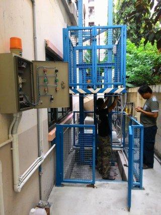 งานซ่อมลิฟท์ขนส่ง (Stacker)