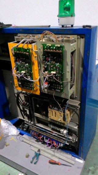 งานซ่อมระบบไฟฟ้าเครื่องจักร