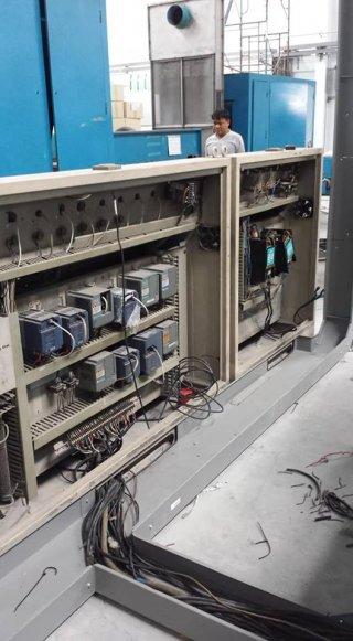 งานติดตั้งระบบไฟฟ้าเครื่องจักร