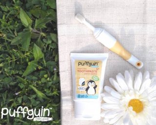 Puffguin's Organic Baby Toothpaste