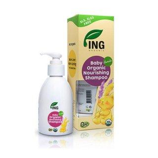 ING Organic  Baby Nourishing Shampoo Lavender