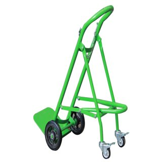 Solid Rubber Wheels Hand Trolley For Gas Cylinder