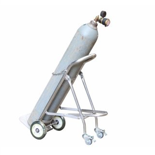 Stainless Steel Fold down Cylinder Hand Truck