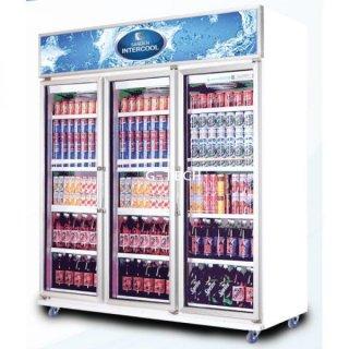 ตู้แช่เย็นกระจก 3 ประตู รุ่น SDC-1500AY