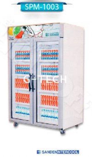 ตู้แช่เย็น กระจก 2 ประตู รุ่น SPM-1003 (37 คิว)