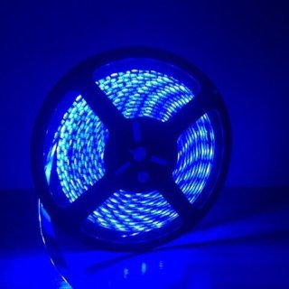 ไฟ LED แบบเส้น 12v สีน้ำเงิน รุ่น 5050
