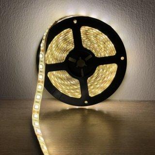 ไฟ LED แบบเส้น 12v สีวอร์มไวท์ รุ่น 5050