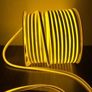 นีออนเฟล็กซ์ 220v 100 ม. สีเหลือง