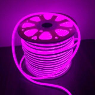 นีออนเฟล็กซ์ 220v 100 ม. สีชมพู