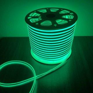 นีออนเฟล็กซ์ 220v 100 ม. สีเขียว