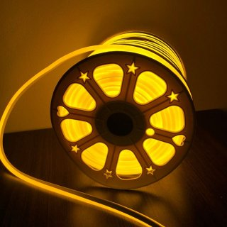 นีออนเฟล็กซ์ 220v สีเหลือง 5 เมตร