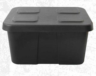 กล่องเก็บของพลาสติก 45 ลิตร ฝาล็อคในตัว